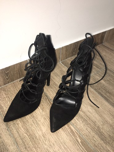 Bez-cipele-na-stiklu - Srbija: Crne cipele na stiklu 37 broj