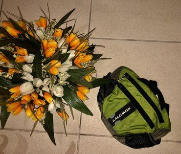 Поясная сумка бренда Salomon, в хорошем состоянии.цена 850 сом
