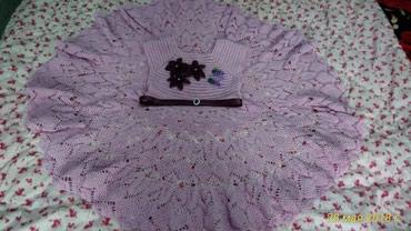 Платье на девочку 6-8 лет. связано в Бишкек