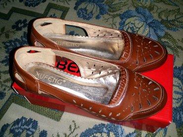 Туфли коричневые, новые - размер 38. в Бишкек