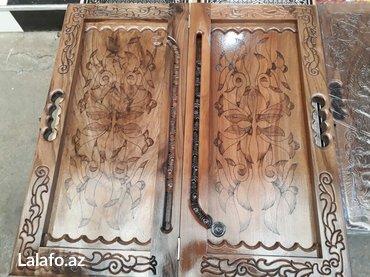 Nərd taxta satılır. Əl işidir. Qoz ağacındandır. Diplomat çantasında in Bakı