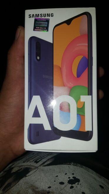 Электроника в Агджабеди: Samsung A01 2020 model keçən ayın 7 si almışam heç bir problemi yoxdu