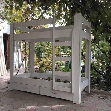 Другие кровати в Кыргызстан: Кроватьдвухярусная кроватьтотальная распродажа!!!новая двухярусная