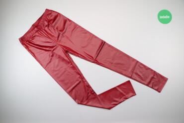 Жіночі яскраві шкіряні штани, р. L    Довжина: 94 см Довжина кроку: 70
