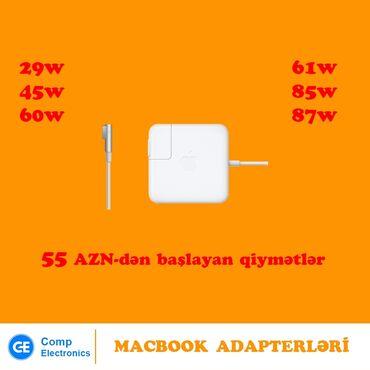 """Apple macbook sahibinden - Azərbaycan: """"Macbook"""" adapterləriÜnvan: 28 MayMetrolara çatdırılma pulsuzApple"""