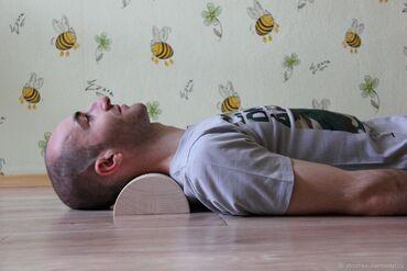 Ортопедические матрасы и подушки - Кыргызстан: Ниша подушка мейрама для шеи 100 % сделано по чертежам