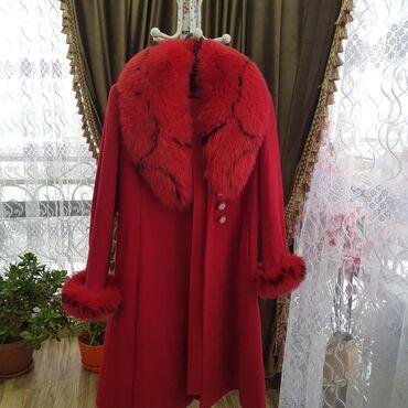 Пальто мало б/у. Размер 48-50