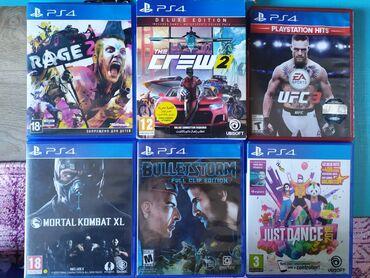 Диски от PS4 оригиналСостояние новых. Русифицированные. Продажа или