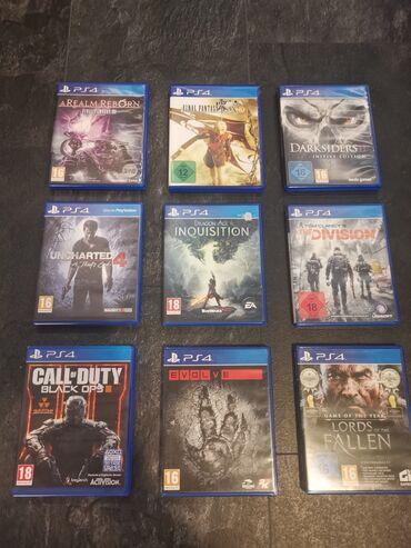 PS4 igrice u odlicnom stanju! Popust na kolicinu!