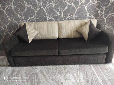 подушка мейрама бишкек in Кыргызстан   УНАА ТЕТИКТЕРИ: Диван в отличном состоянии (с выдвижным спальным местом). Обивка из