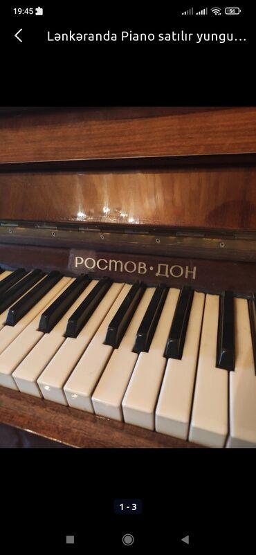 79 elan   İDMAN VƏ HOBBI: Lənkəranda Piano satılır qiymət sondur uzun muddətdir istifadə olunmur