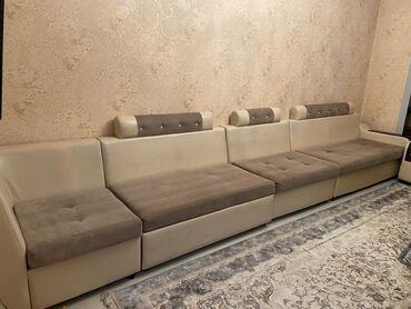 продам мебель бу in Кыргызстан | МЕБЕЛЬНЫЕ ГАРНИТУРЫ: Продаётся очень мягкий, комфортный #диван#мебель длина 6метров