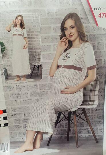 производства бангладеш в Кыргызстан: Сорочки для беременных и кормящих.  Производство Турция