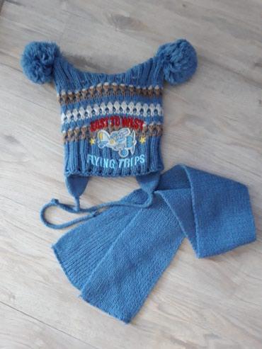 Набор: шапка+шарф. Польша. Очень клевый в Токмак