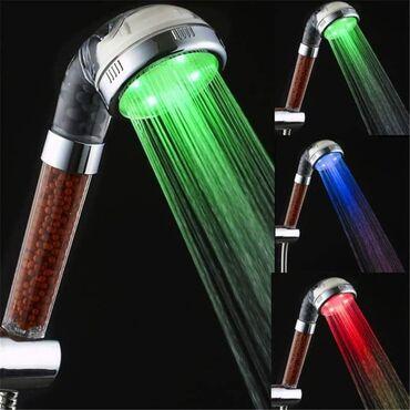 LED SPA TUŠ GLAVA.Prelep dekorativni element za Vaše kupatilo.Uređaj