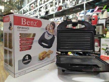 Электроника в Наваги: Benz firması sadə toster. Hər evə lazımdır