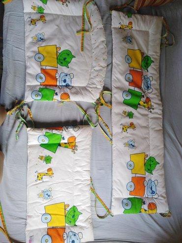 Dzak-za-spavanje - Srbija: Ogradica za krevetacOgradica za krevetac koja se sastoji iz tri dela