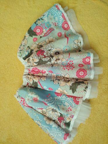 Pencil suknja afroditemodecollection - Srbija: Suknjica sa tilom za male devojčiceVeličina 104 Ima malo flekicue od