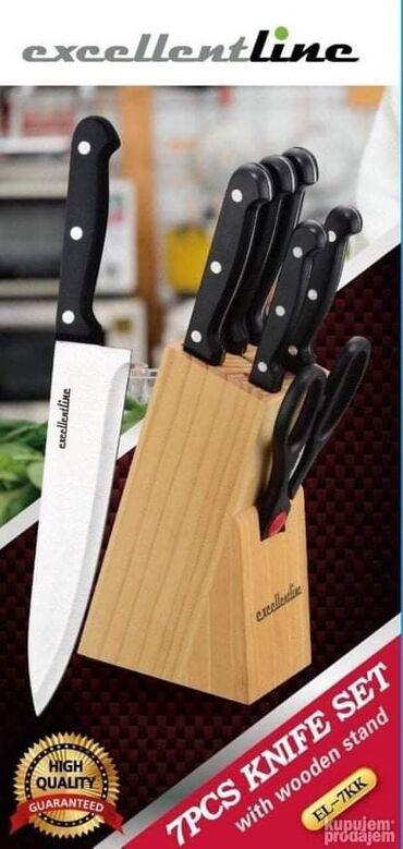 Noževi u Setu 7KKSamo 1700 dinara.Noževi u Setu 7KKSet noževa (5 kom +