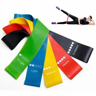 Акция Эластичные ленты для занятий спортом, Тянущиеся резиновые ленты