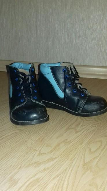 детская ортопедическая обувь для профилактики в Азербайджан: Ортопедическая обувь  Ortopedik ayaqqabı   размер/ ölçü 33.5