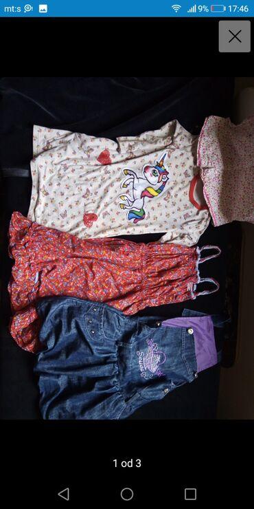 Paket za devojcicu vel 6,exstra stanje cena za sve, 4 stvari i više