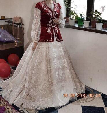 Сдаю на прокат платье можно сделать 2/1 на свадьбу и на кыз узатуу