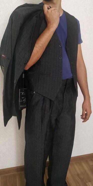 тапки мужские в Кыргызстан: Мужской костюм тройка. в отличном состоянии, новый