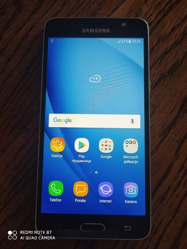Upotrebljen Samsung Galaxy J5 2016 32 GB crno