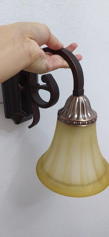 Бра (светильник), металлический каркас, состояние отличное
