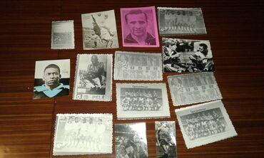 Digər kolleksiyalar Azərbaycanda: Sovet dövründən qalan futbol fotoları satılır. 14 ədəd var. Biri 2 man