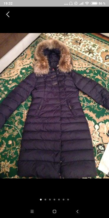Продаю куртку темно-синего цвета с в Бишкек