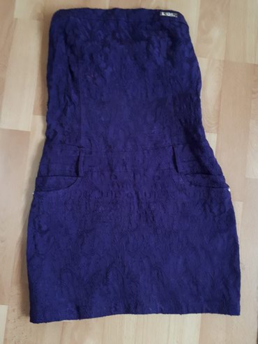 S/M Elegantna top haljinica sa dezenom i imitacijom dzepova. - Jagodina