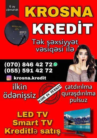 Услуги - Масазыр: Krosna Antenalarin ilkin ödənişsiz kreditlə satışıPeyk antenalarin