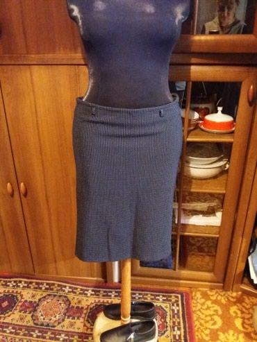 синяя юбка в Кыргызстан: Юбка 50 52размер 100сом.темно синяя. турция