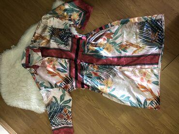 Satenska haljina M