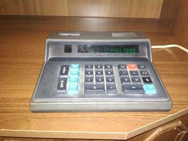 Şirvan şəhərində Elektron kalkuliyator
