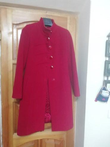Пальто кашемировое деми, 48размер в Бишкек