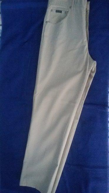 Ocuvane letnje pantalone u krem boji - Novi Sad