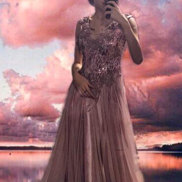 длинные платья из турции в Кыргызстан: Очень красивое вечернее платье. Немного утягивает область талии. Также