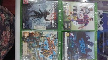 Bakı şəhərində Xbox one üçün Tomb Raider oyunu