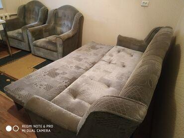фата для девичника бишкек в Кыргызстан: Продаю диван с креслами  Сост-Хорошее