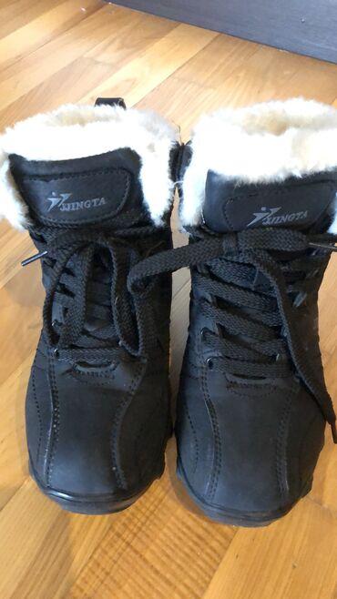 Продаю детские зимние ботинки, б/у, но из-за карантина обували пару