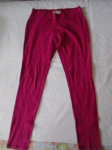 Pantalone uz telo - Srbija: Pamučne helanke Gina uz telo, očuvane. Naznačena veličina je 40 ali