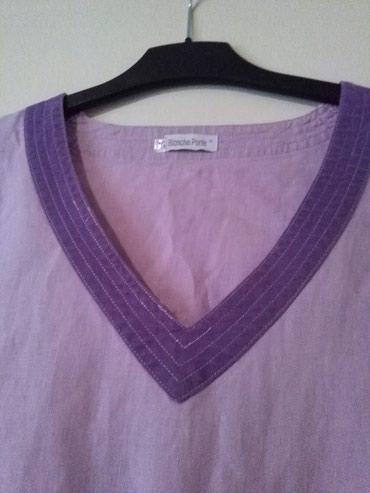 Tunika za krupnije dame od lana,prelepo stoji,nije nosena - Sombor - slika 6