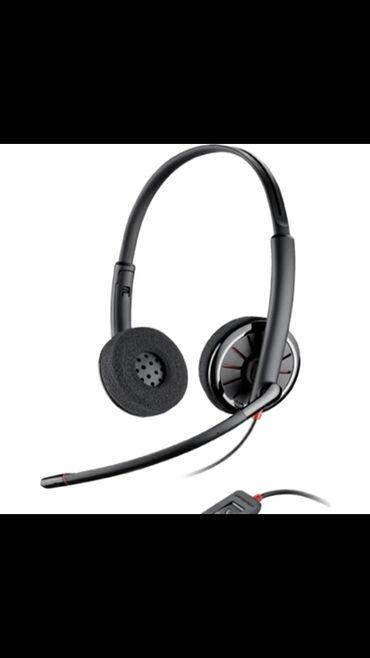 микрофон наушник в Азербайджан: Plantronics Blackwire C320 M (stereo) mikrofonlu. Usb qulaqciq. 40