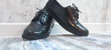 Туфли от:GoadGirl Цвет:чёрный/лакированный Размер:41 маломерка