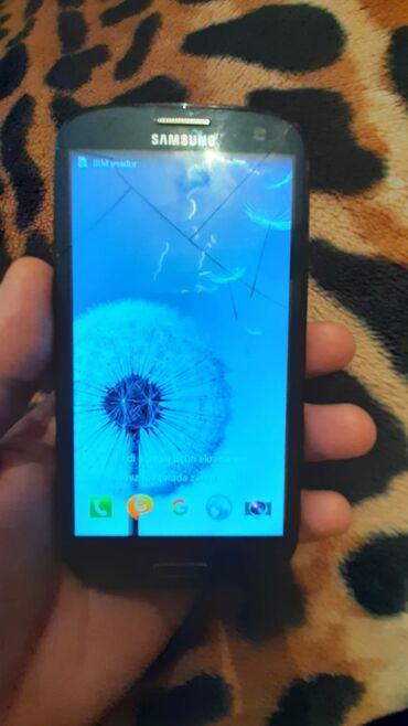 samsung s3 ekran - Azərbaycan: İşlənmiş Samsung I5800 Galaxy 3 16 GB qara