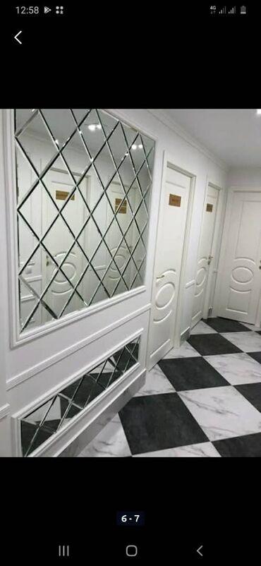 Флипчарты алюминиевая настенные - Кыргызстан: Зеркало на заказ Бишкек⚜ЗЕРКАЛЬНОЕ ПАННО – уникальный вид настенного