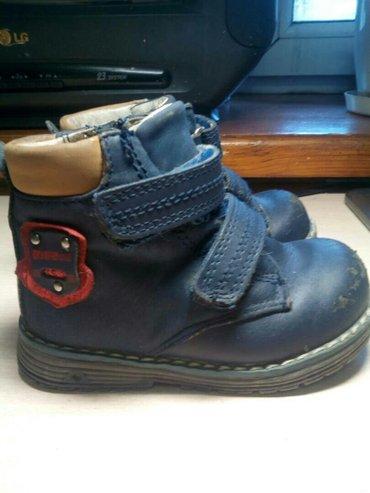 Кожаные ботинки. ортопедические. деми. б/у. немного потерты носы в Бишкек